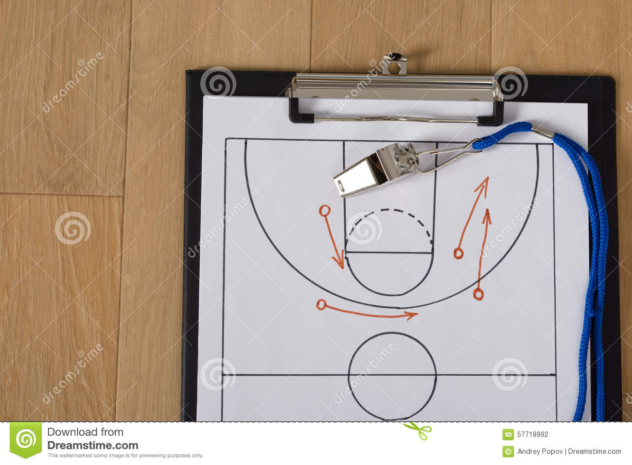 Tactics paper basketball