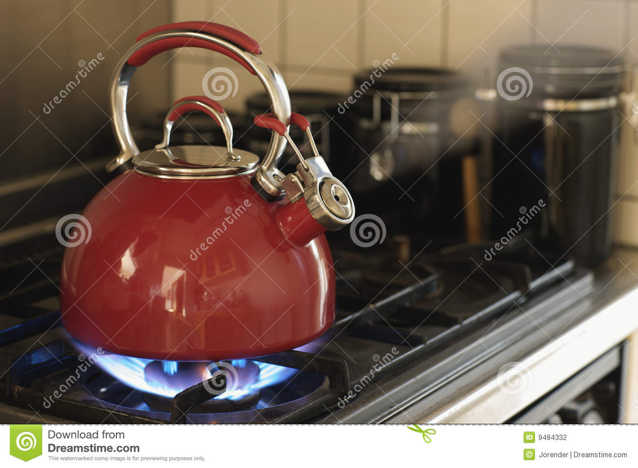 whistling teapot stock photography  image  - whistling teapot stock photography