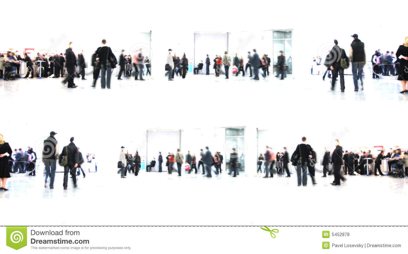 Download White Abstract. People In Hall Stock Photo - Illustration of open, body: 5452878