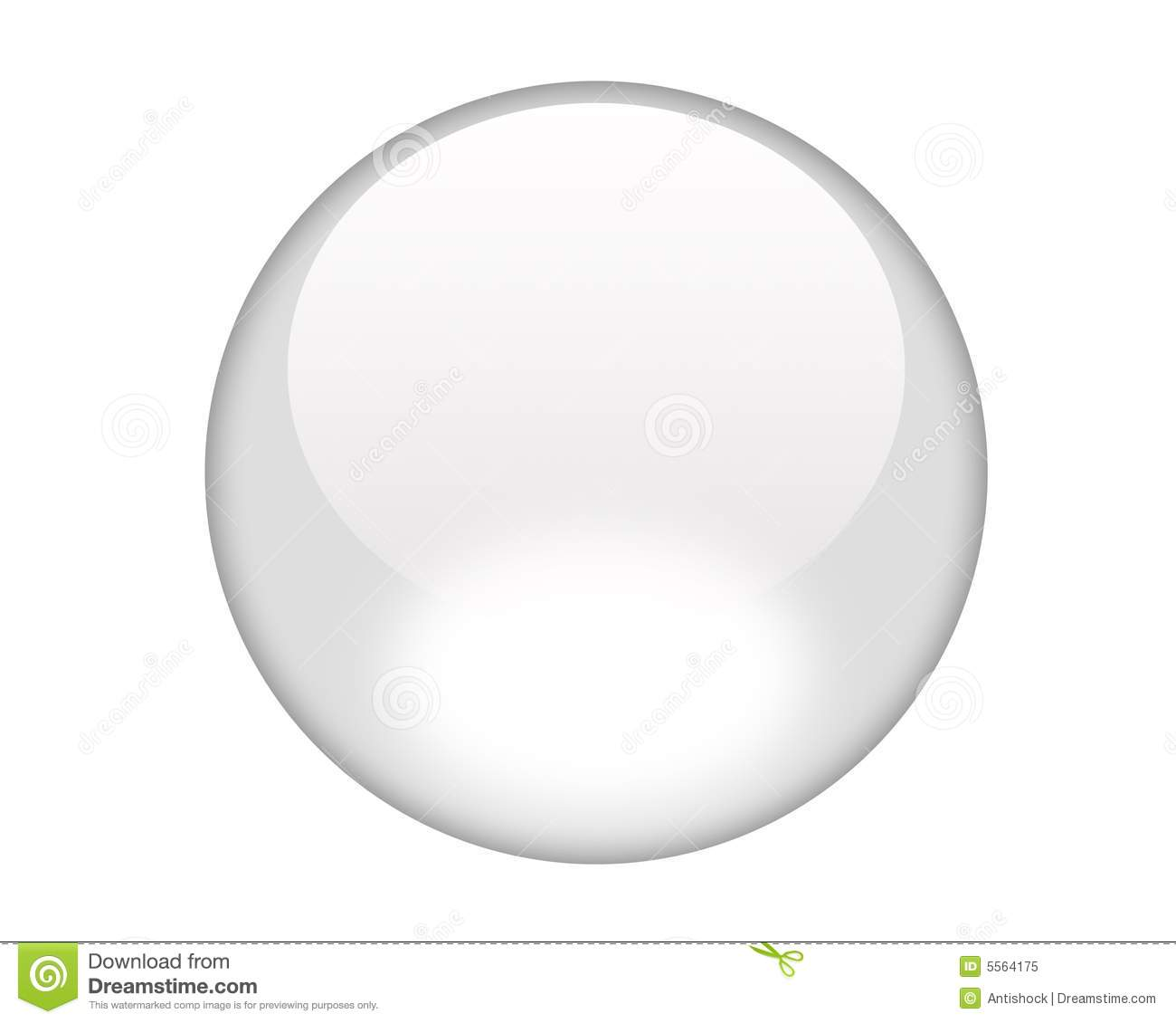 White Aqua Button Royalty Free Stock Photo - Image: 5564175