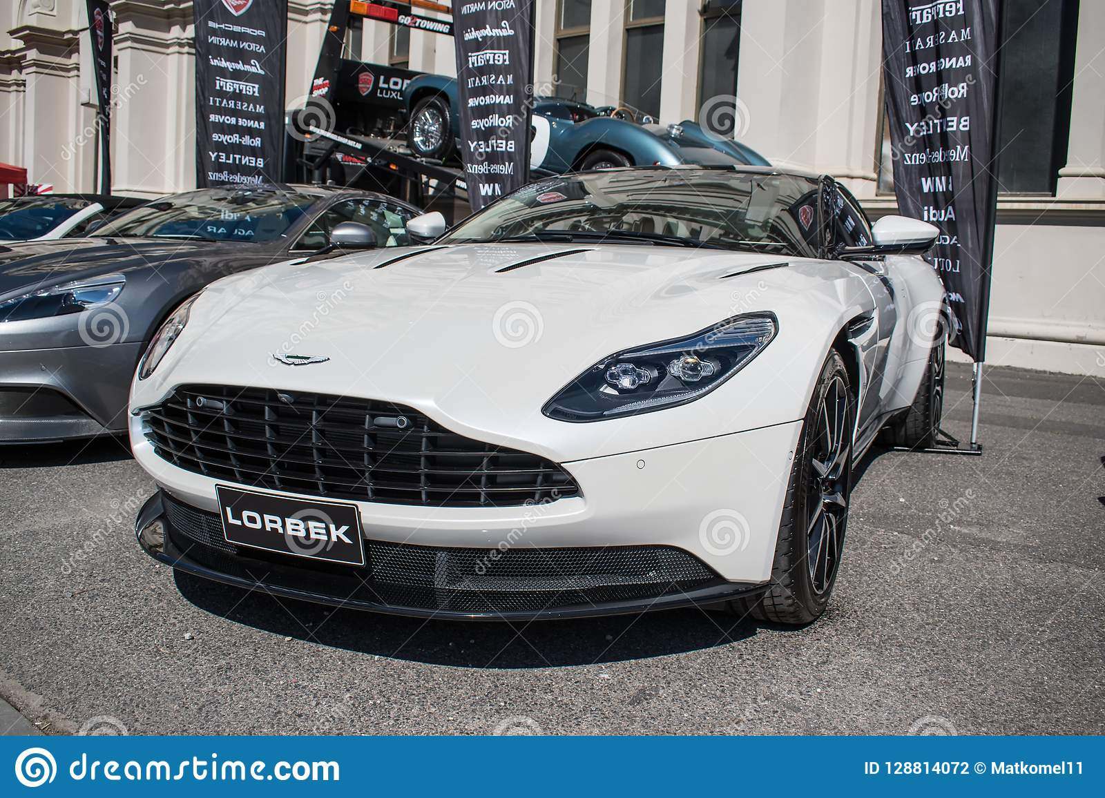 White Aston Martin At Motorclassica Editorial Photography Image Of Held Australasias 128814072