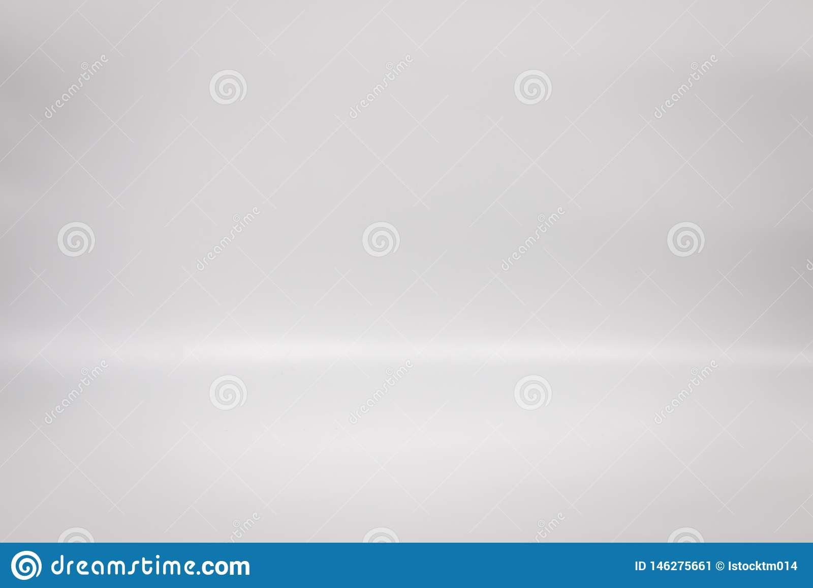 White backdrop for your product. Studio floor background. Blank interior gray scene