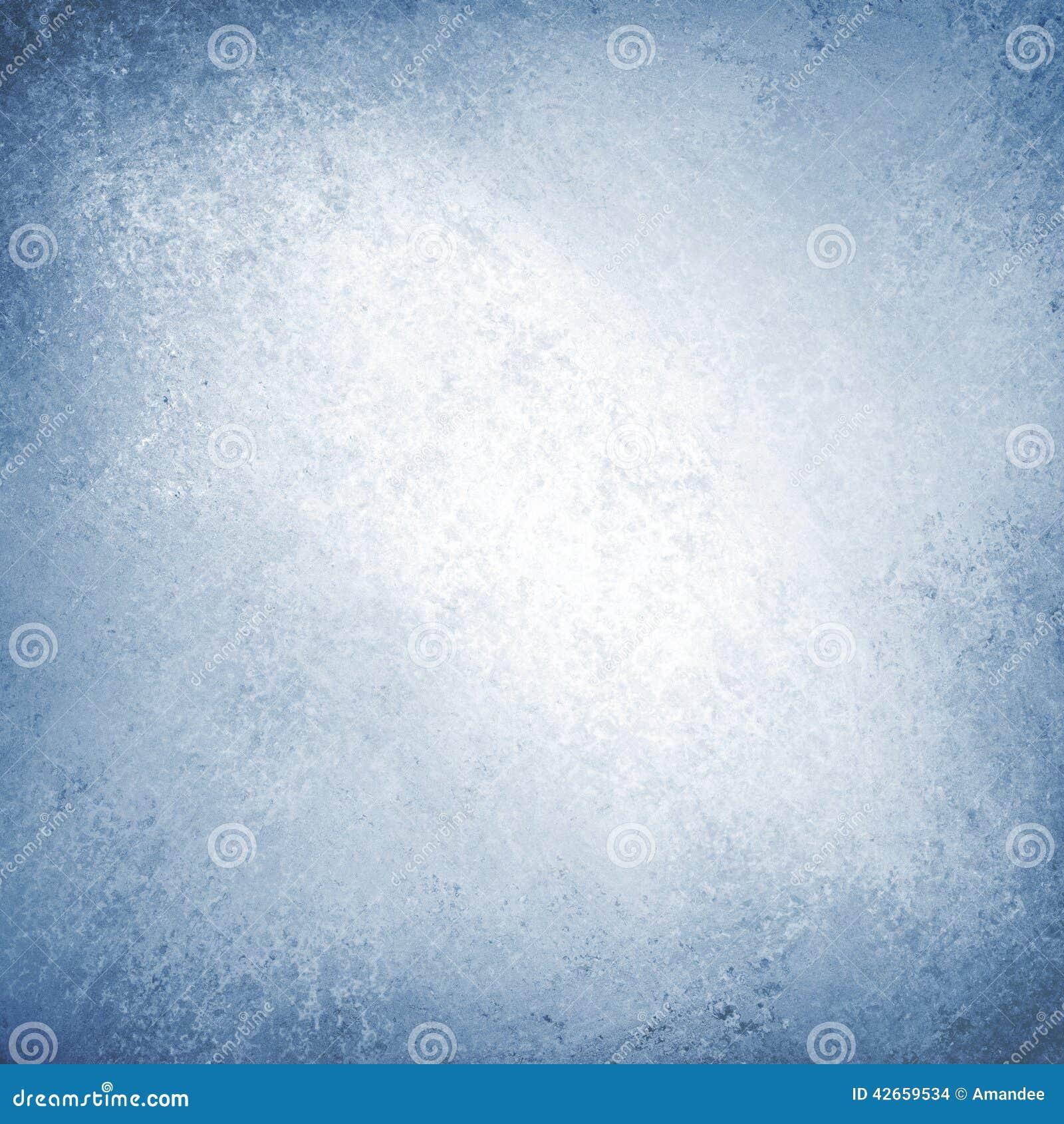 White Background Blue Border Vintage Texture Stock Photo
