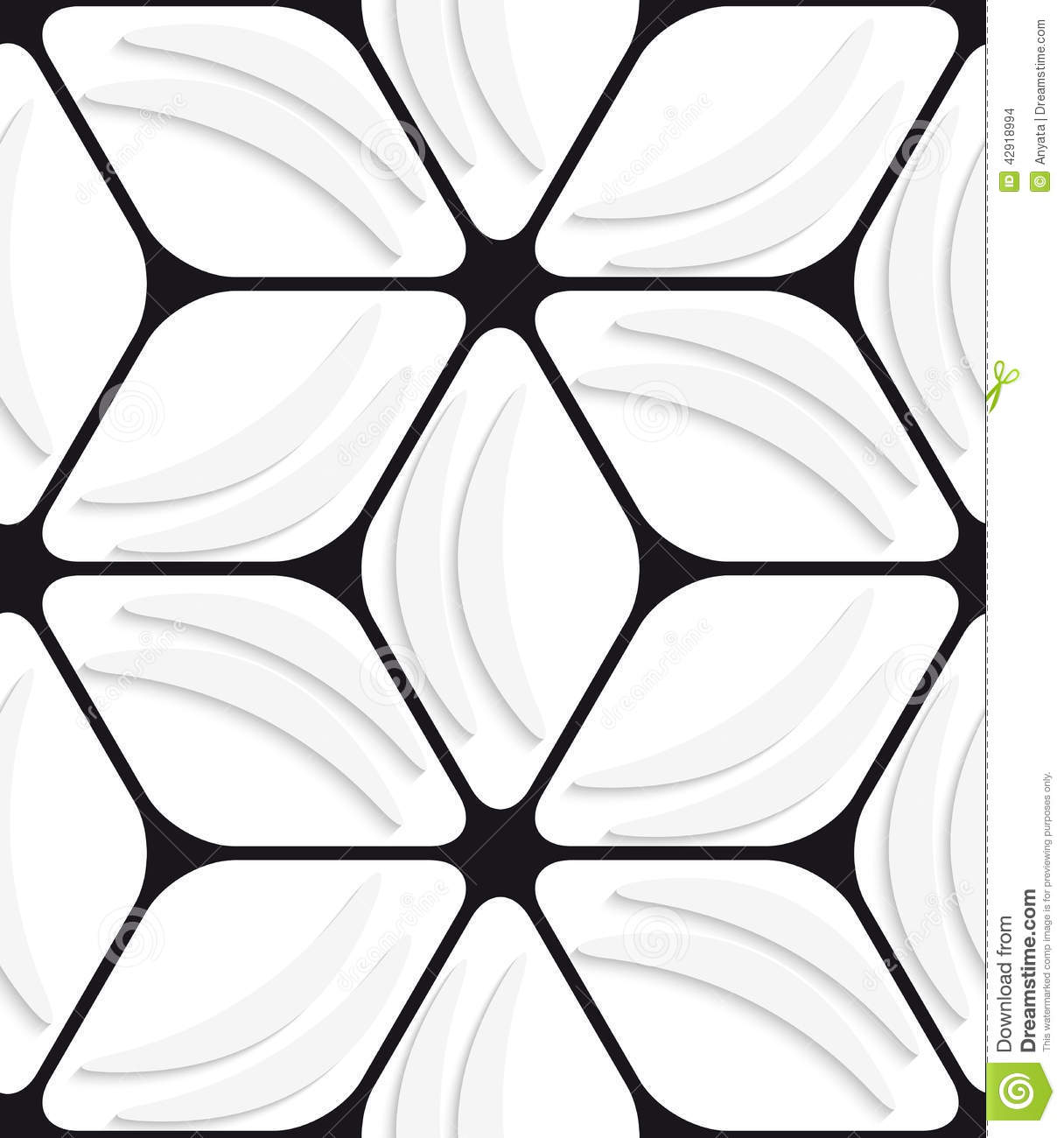 Black abstract shapes pictures to pin on pinterest pinsdaddy for Black and white shapes