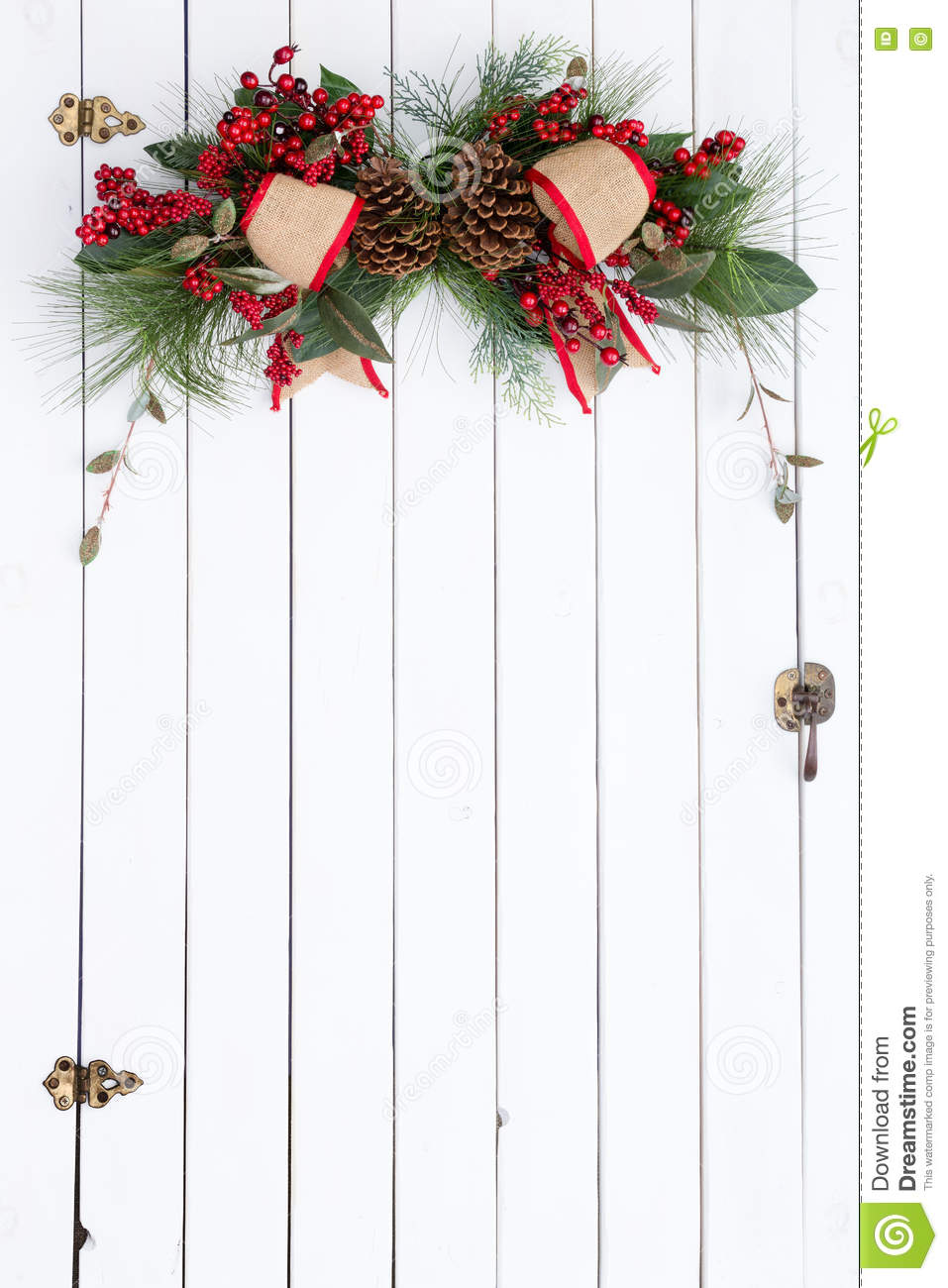 red barn doors clip art. white barn door with rustic christmas decoration red doors clip art