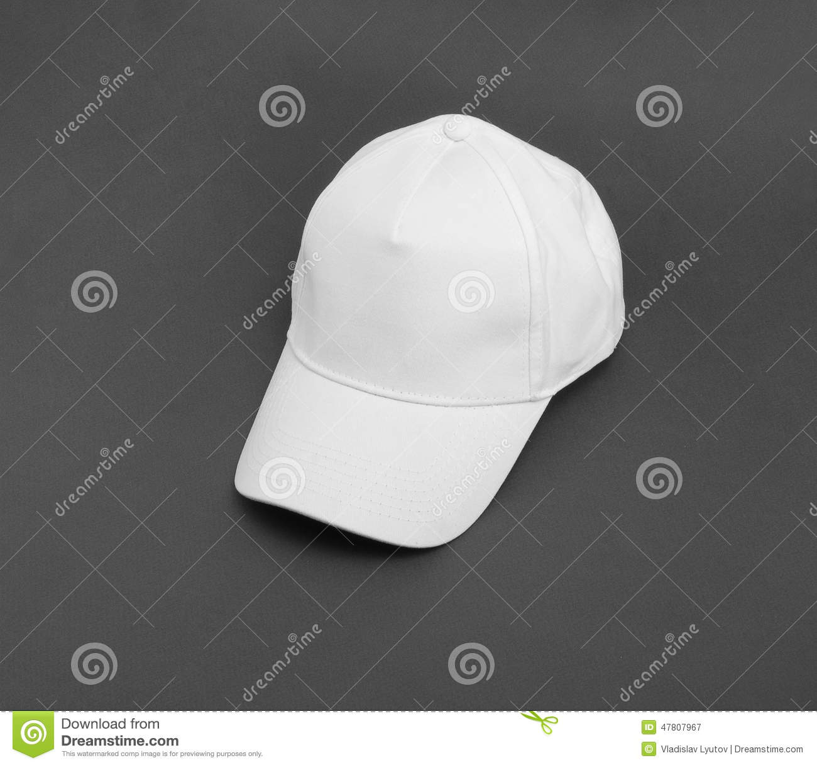 how to clean a white baseball cap