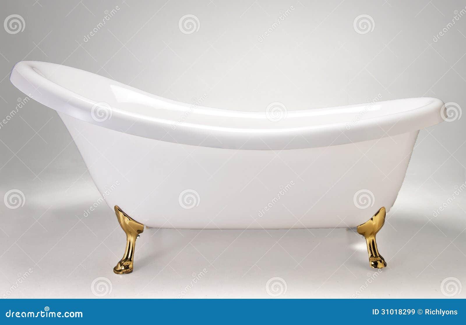 White Bath Tub Stock Image Image Of Foam Skincare