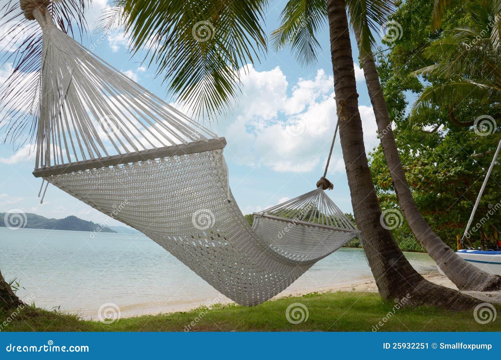 White Beach Swing Stock Image Image 25932251