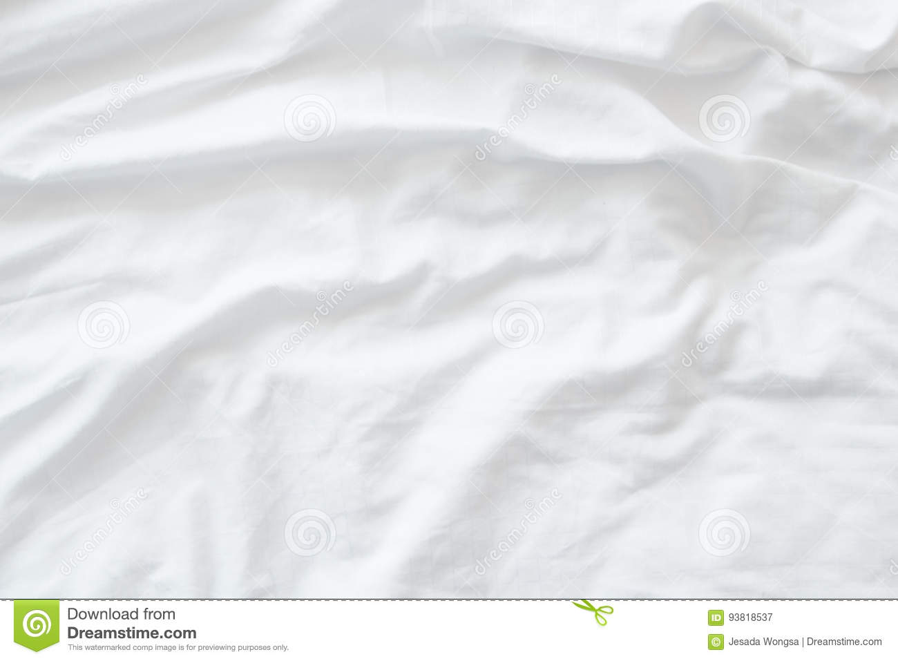 Wrinkled bed sheets texture - White Bedding Sheets Or White Fabric Wrinkle Texture Background Soft Focus