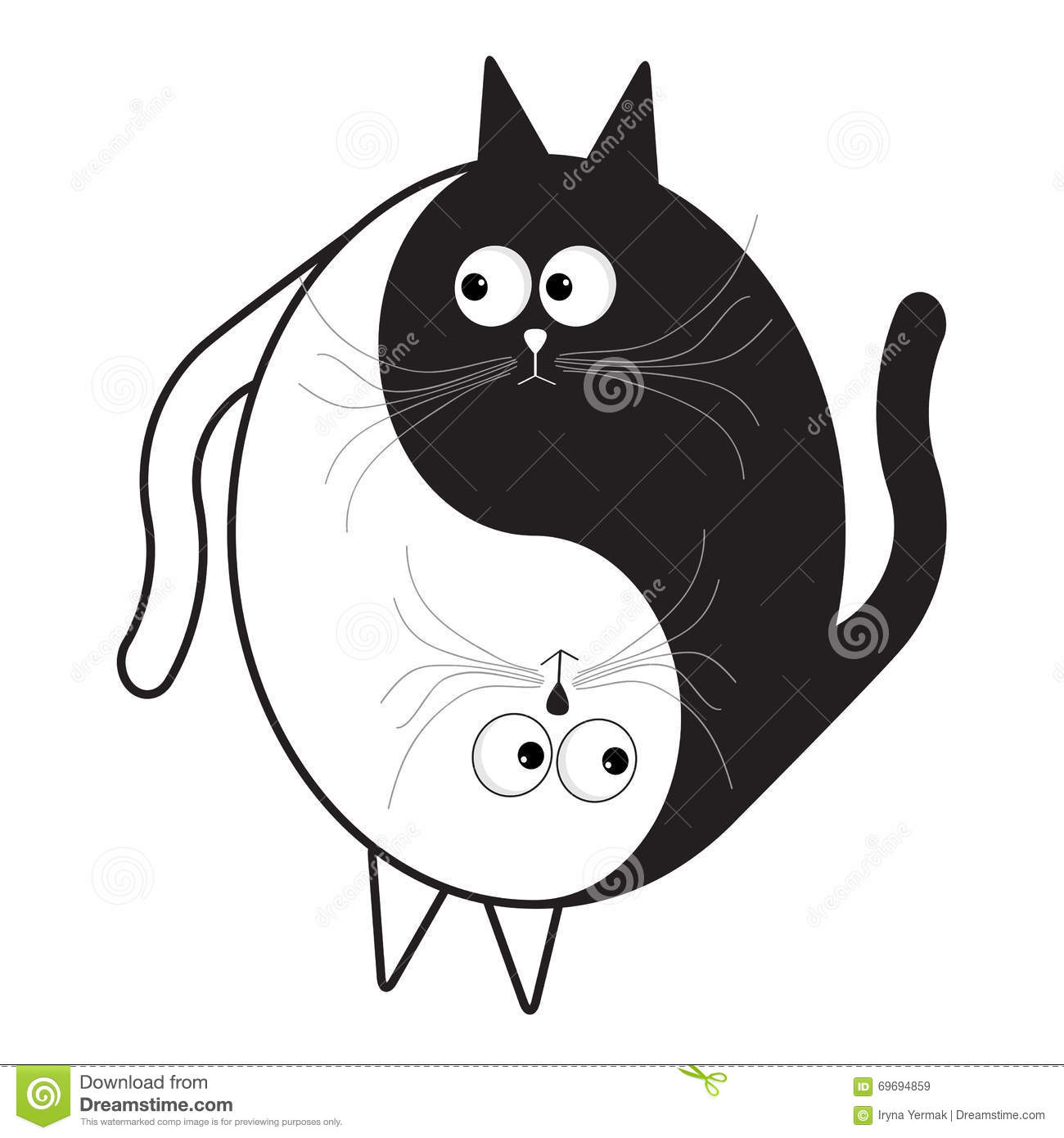 Cute Black And White Decorative Lines Clipart