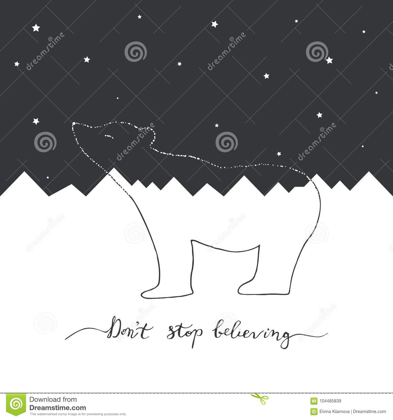 White And Black Merry Christmas Cards Design. Stock Vector ...