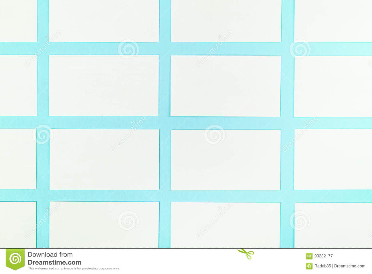 White blank business cards on blue background with paper texture download white blank business cards on blue background with paper texture stock image image of reheart Image collections