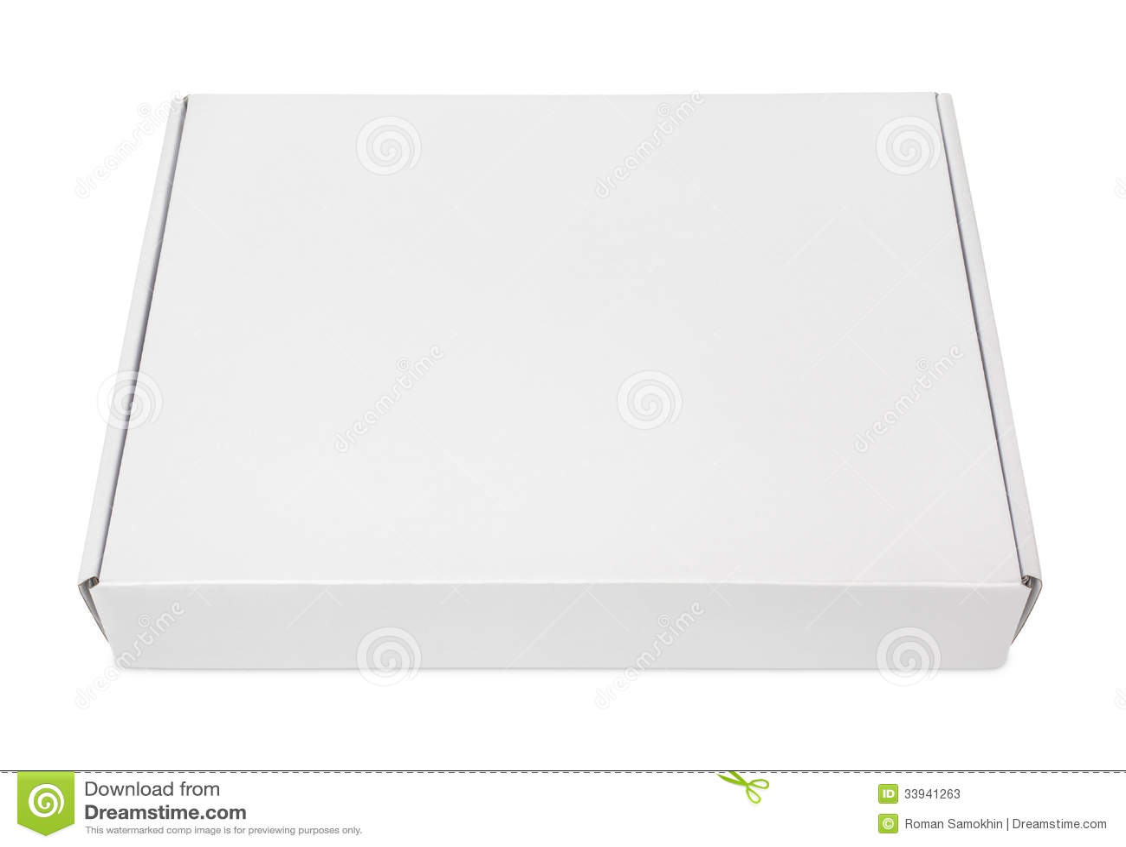 Коробка для пиццы развертка