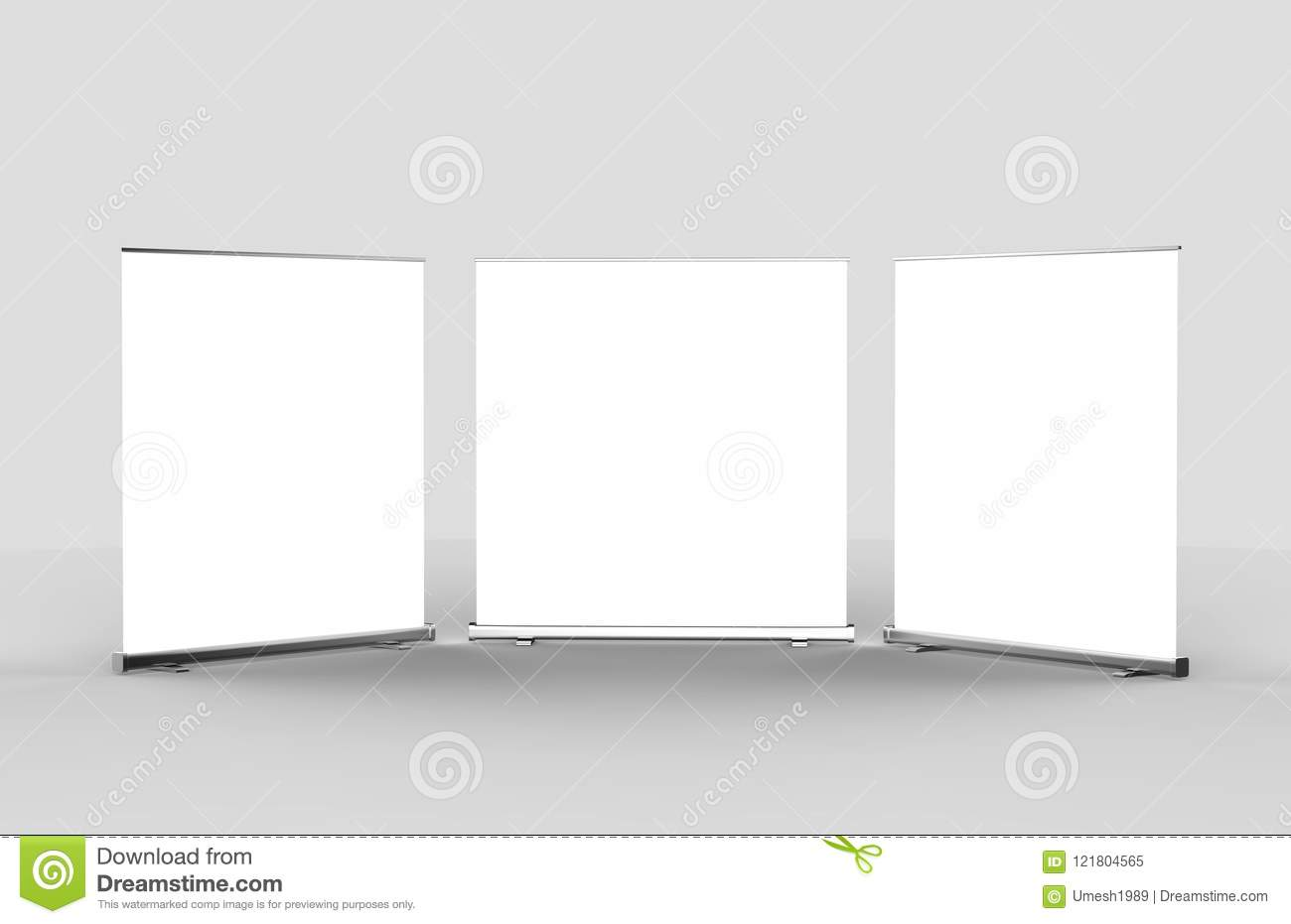 White blank empty high resolution business roll up and standee white blank empty high resolution business roll up and standee banner display mock up template for your design presentation flashek Image collections
