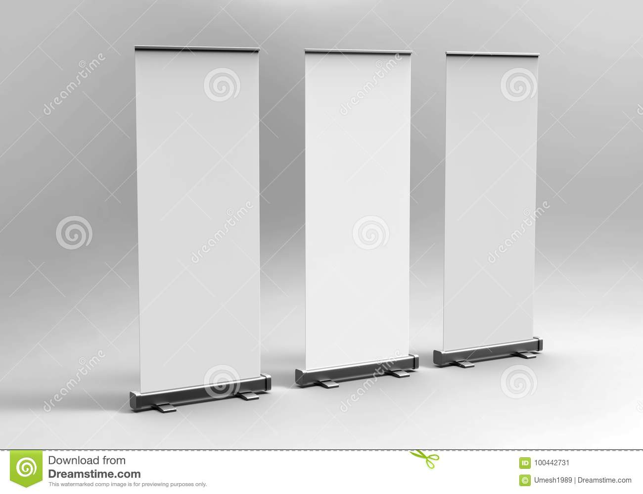 White blank empty high resolution business roll up and standee download comp accmission Gallery