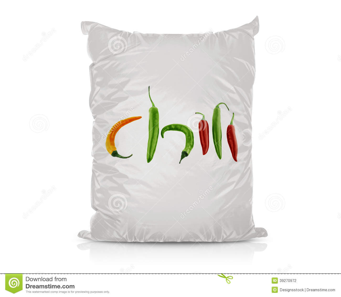 white blank foil food bag stock photo  image of gray