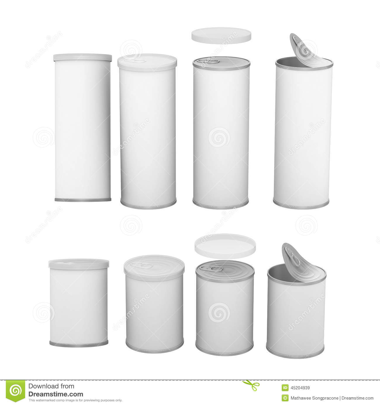 white blank label snack can with pull tab and cap clipping path stock photo image 45204939. Black Bedroom Furniture Sets. Home Design Ideas