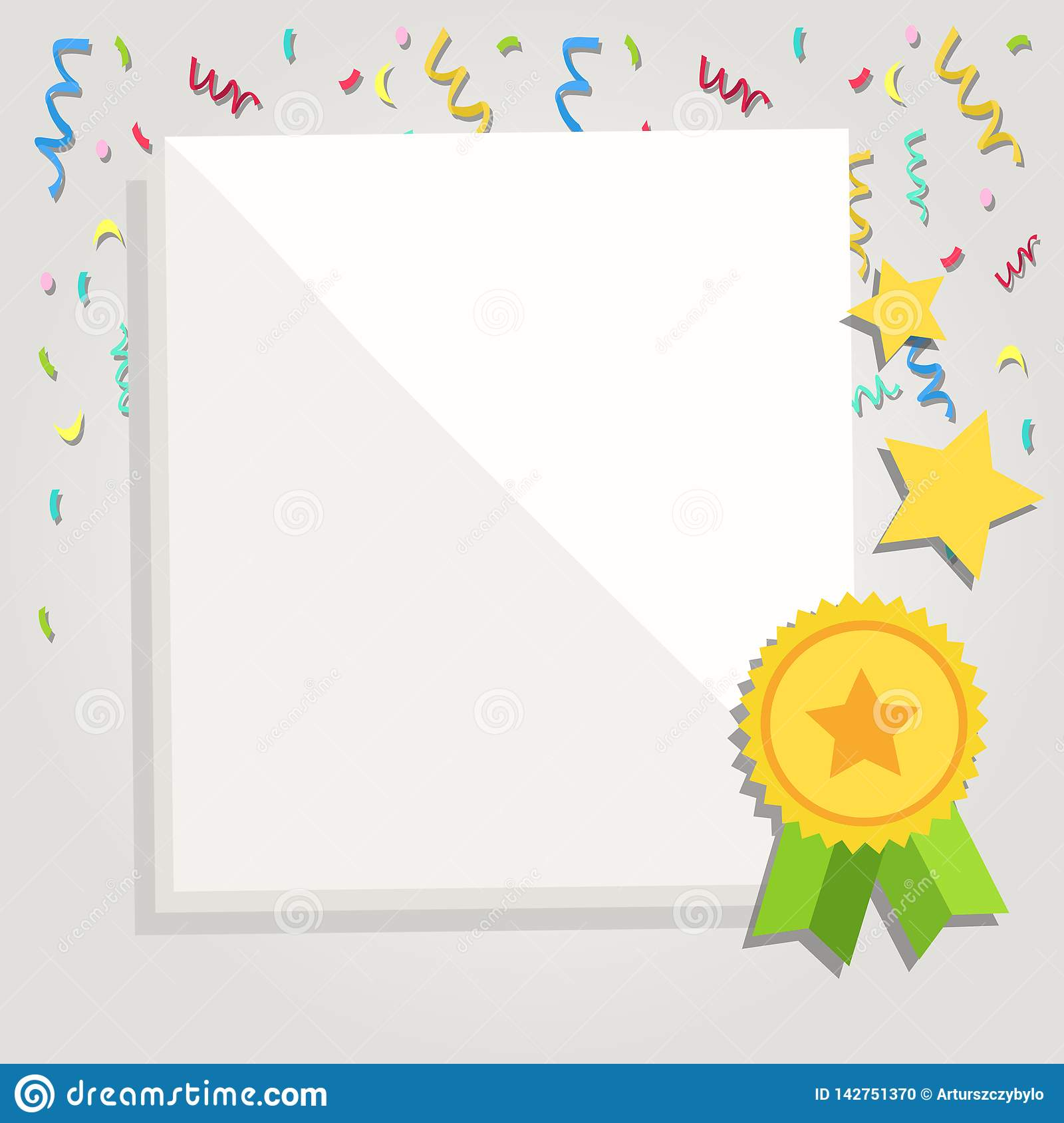 photo about Parchment Paper Printable named White Blank Sheets Of Parchment Paper Stationery With Ribbon