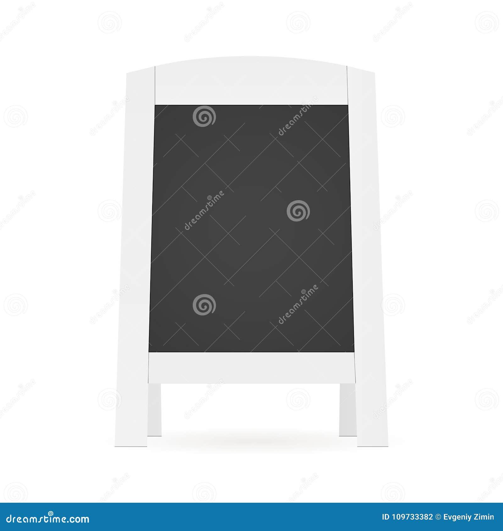 Blank street menu stock vector. Illustration of sandwich ...