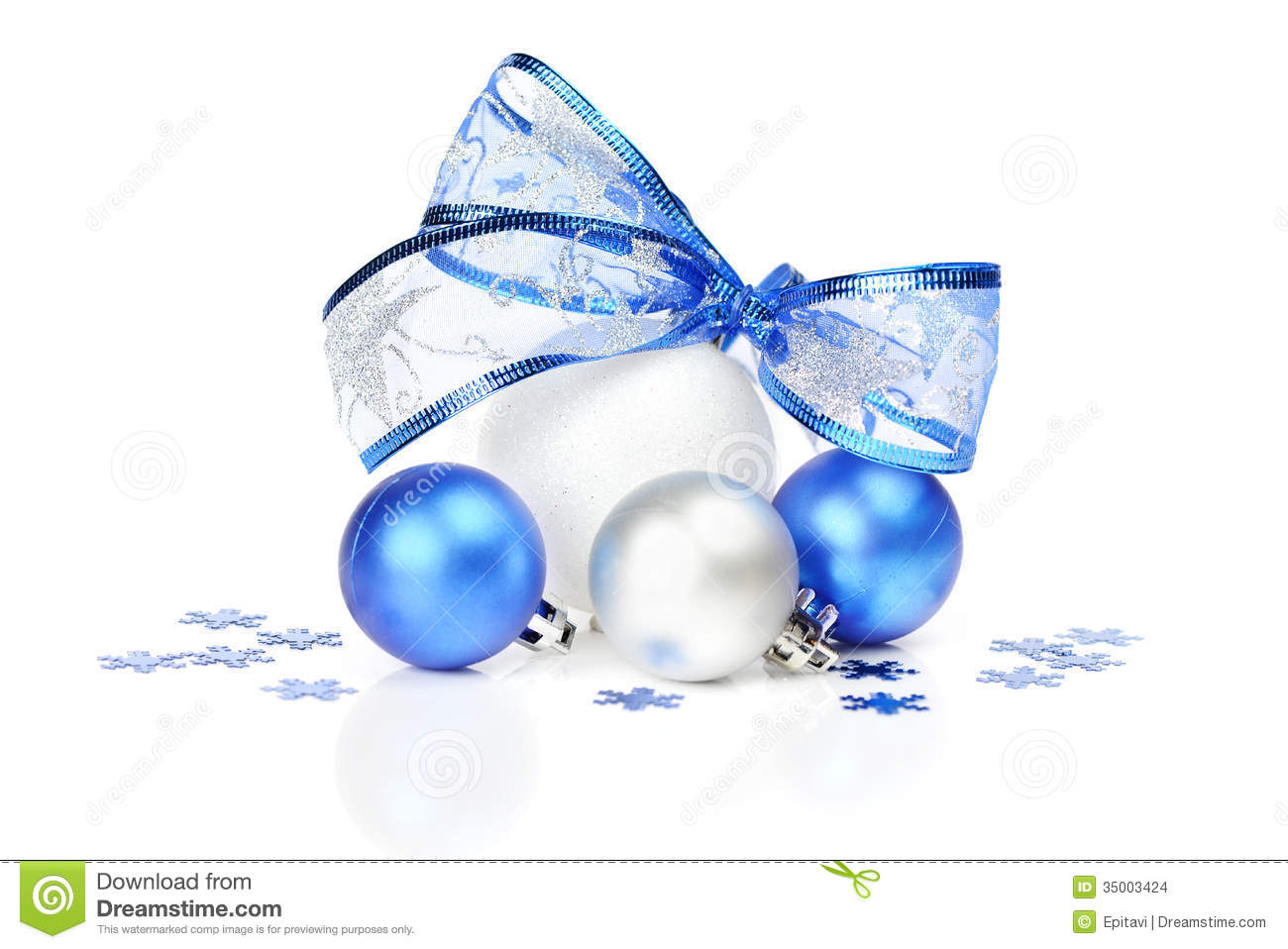 white and blue christmas decoration - Blue And White Christmas Decorations