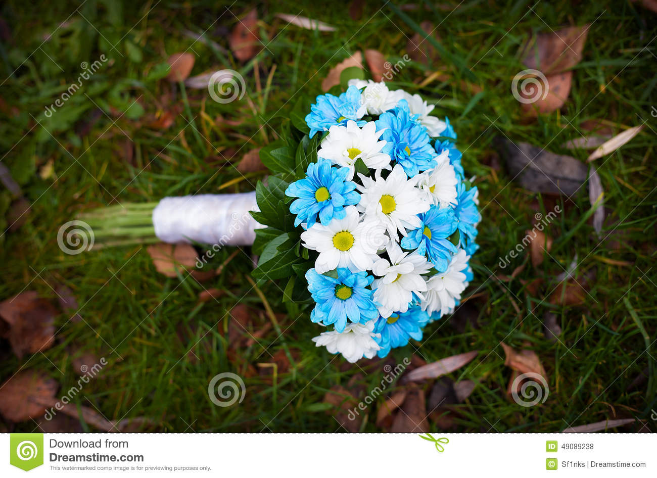 White and blue flowers wedding bouquet stock photo image of green download white and blue flowers wedding bouquet stock photo image of green bloom izmirmasajfo