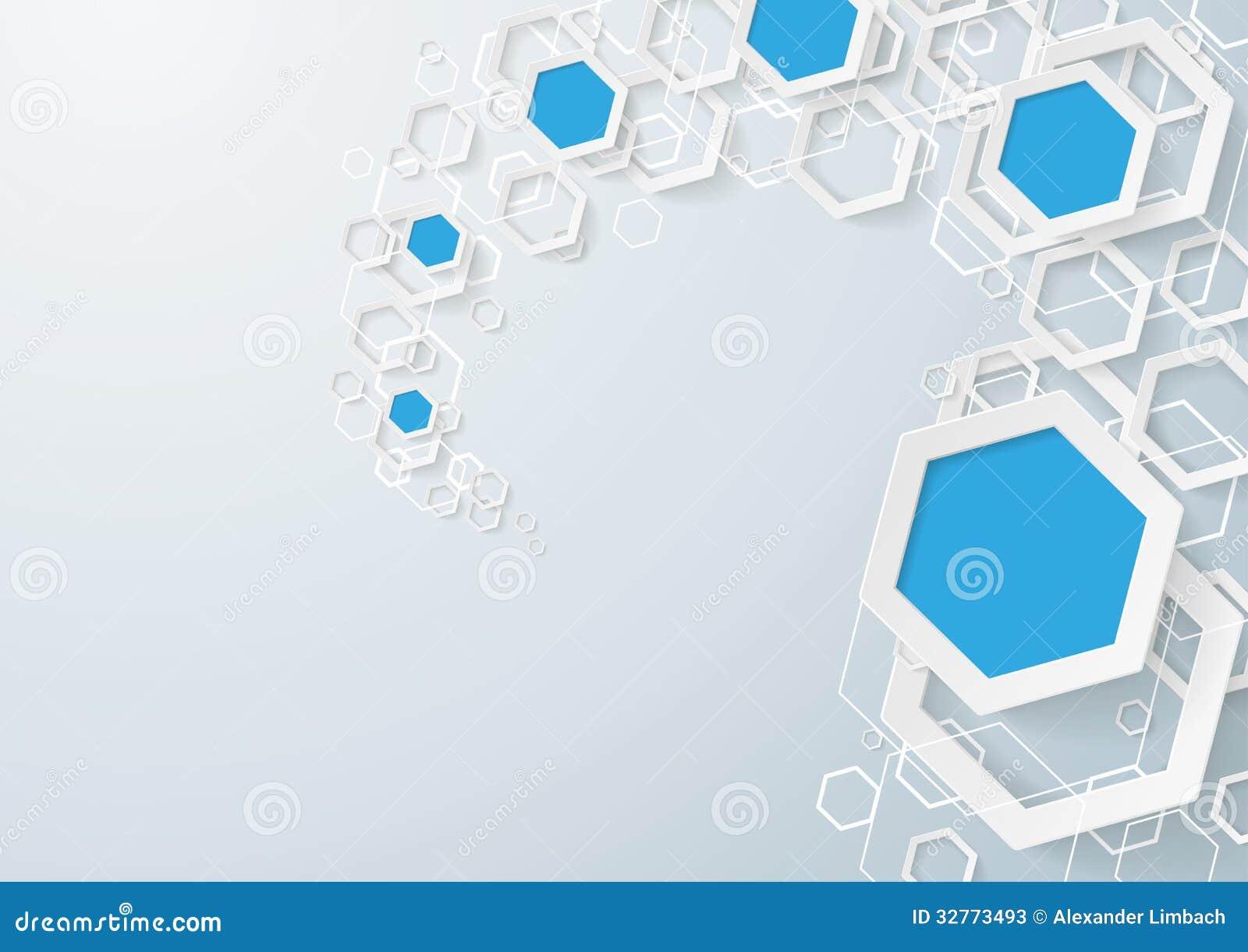wallpaper blue hexagon white - photo #40
