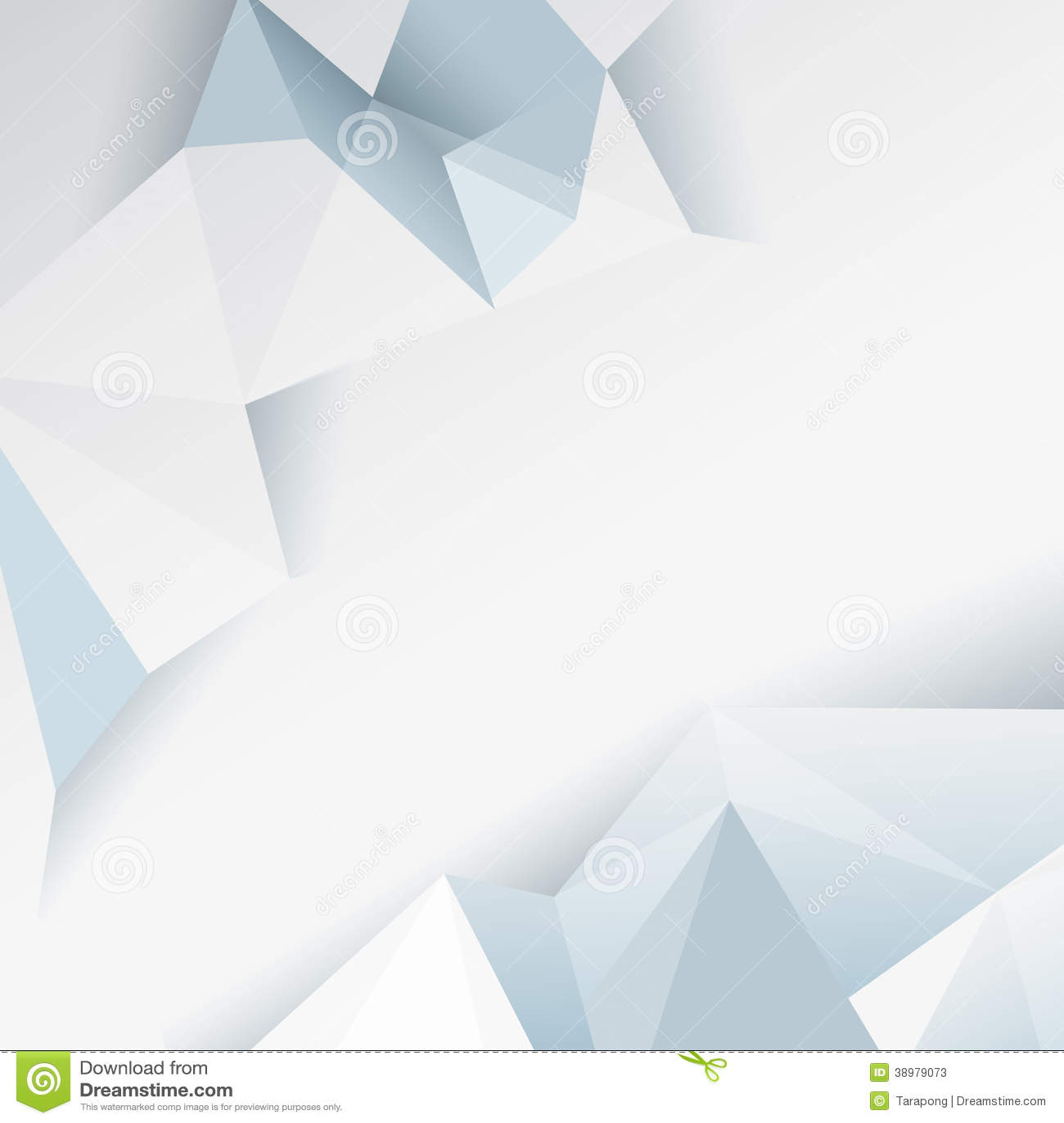 white flyer background