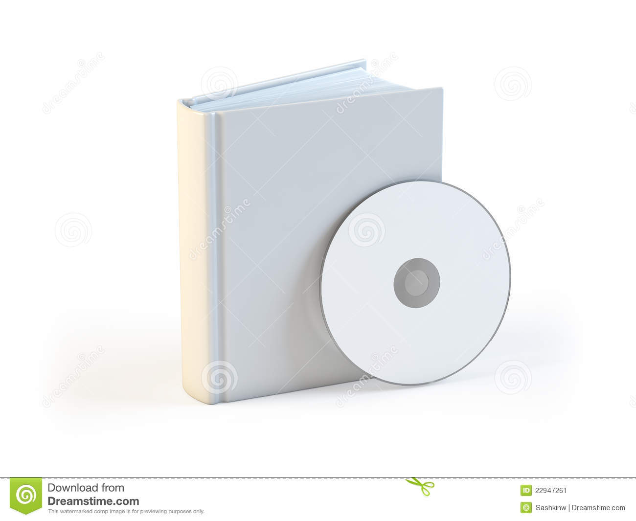 CD In The Book Royalty-Free Stock Image | CartoonDealer ... - photo#46