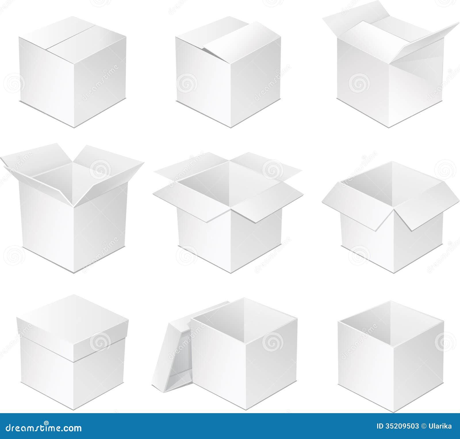 White Box. Stock Photos - Image: 35209503
