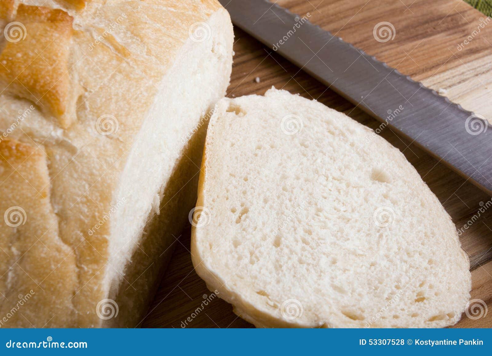 White Bread Stock Photo - Image: 53307528