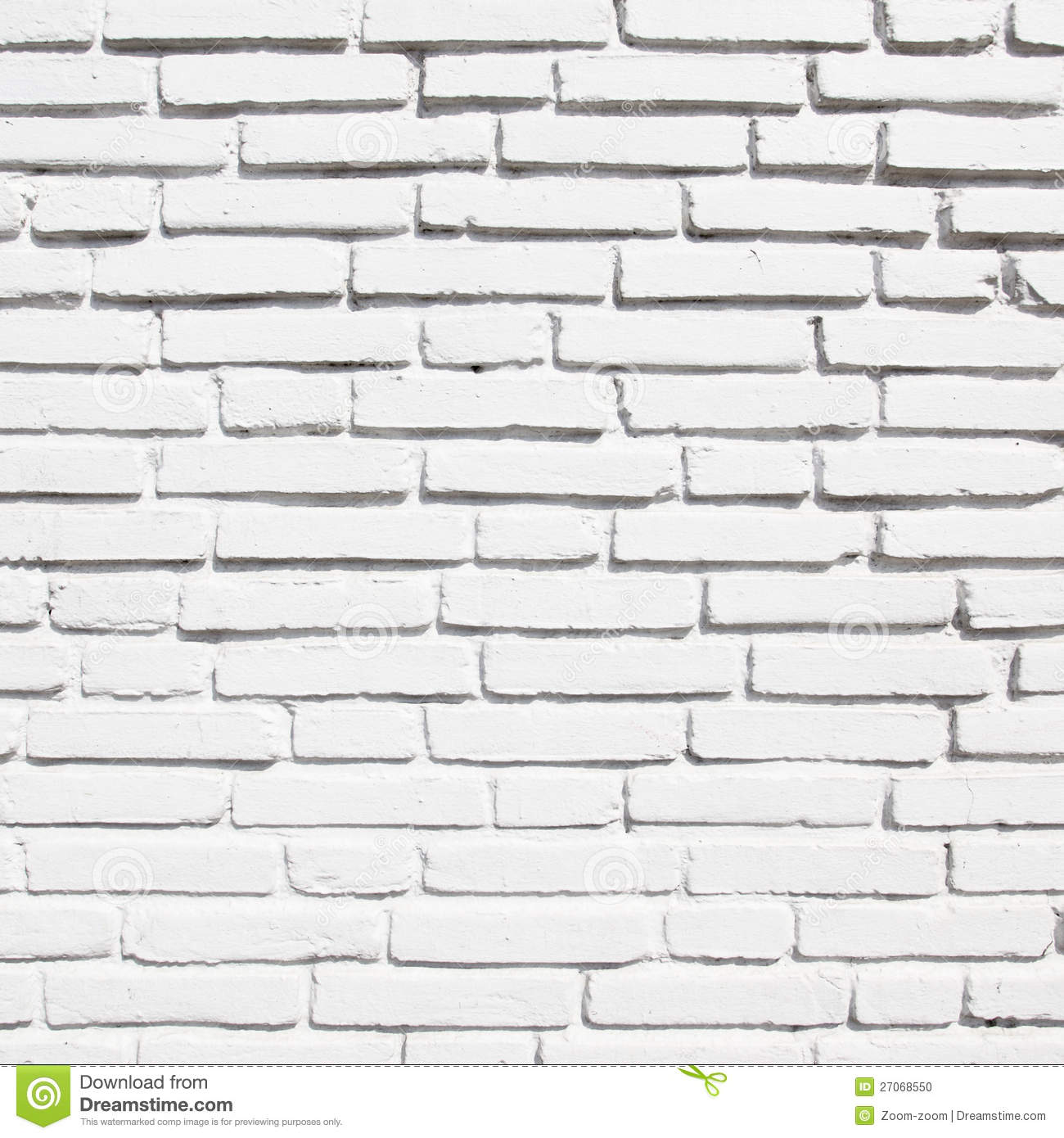 White Brick Wall Stock Photo Image Of Retro Material 27068550