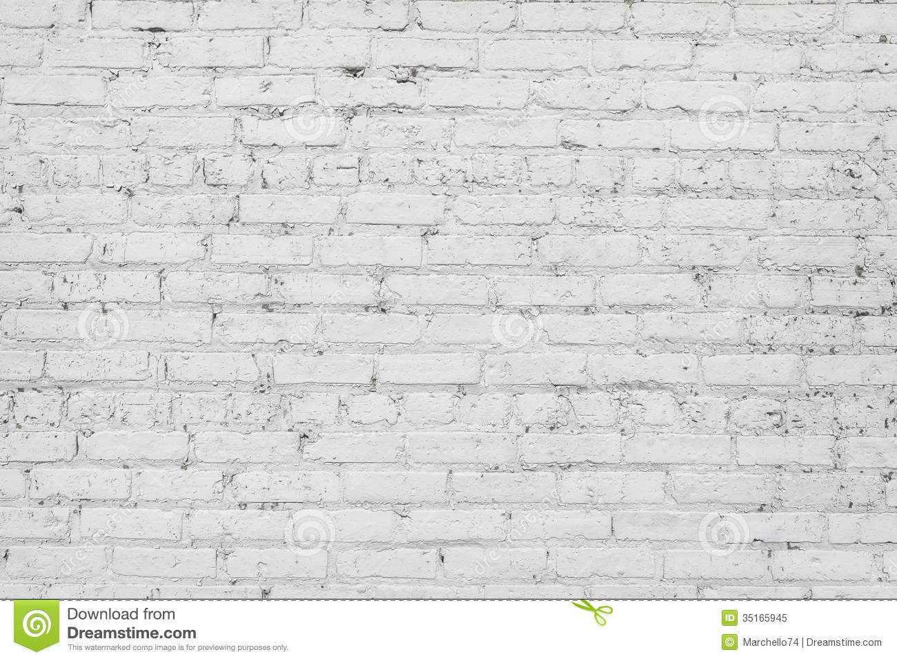 White Brick Wall Background Stock Image Image Of Architecture Plaster 35165945