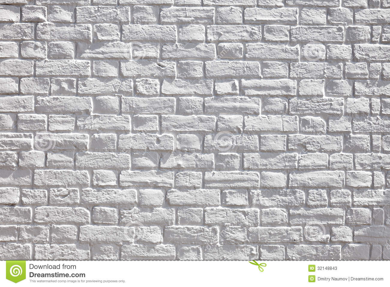 White Brick Wall Stock Photos Image 32148843
