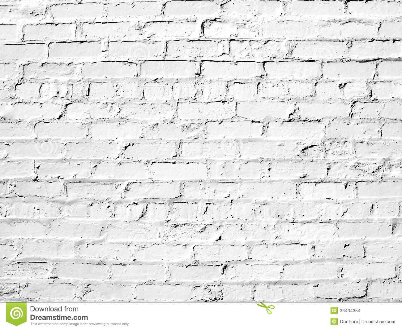 White brick wall perfect as a background stock photo - Pared ladrillo blanco ...