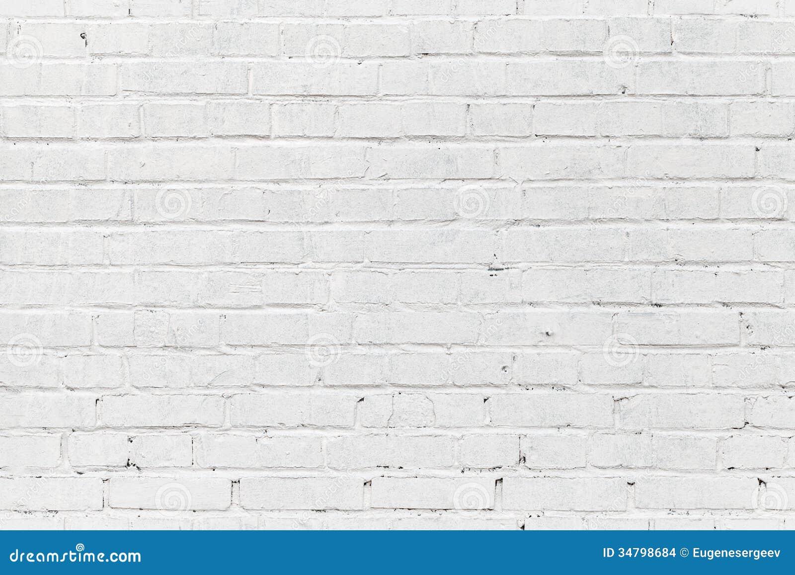 Blanc Brique Wallpaper