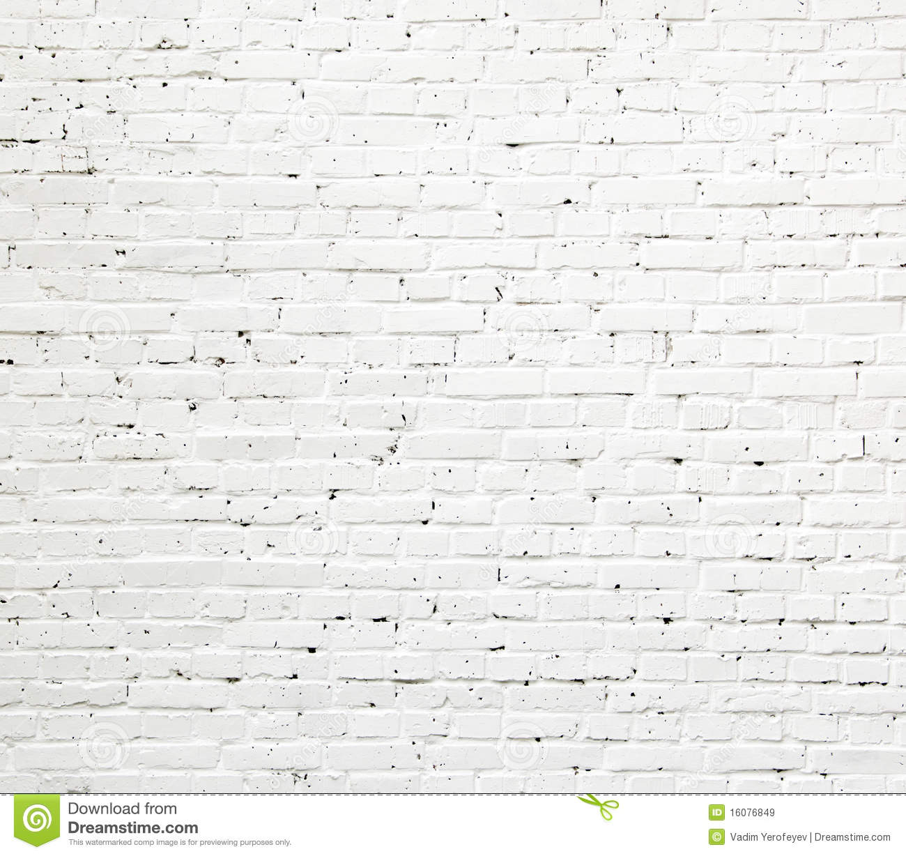 white brick wall texture royalty free stock images image 16076849. Black Bedroom Furniture Sets. Home Design Ideas