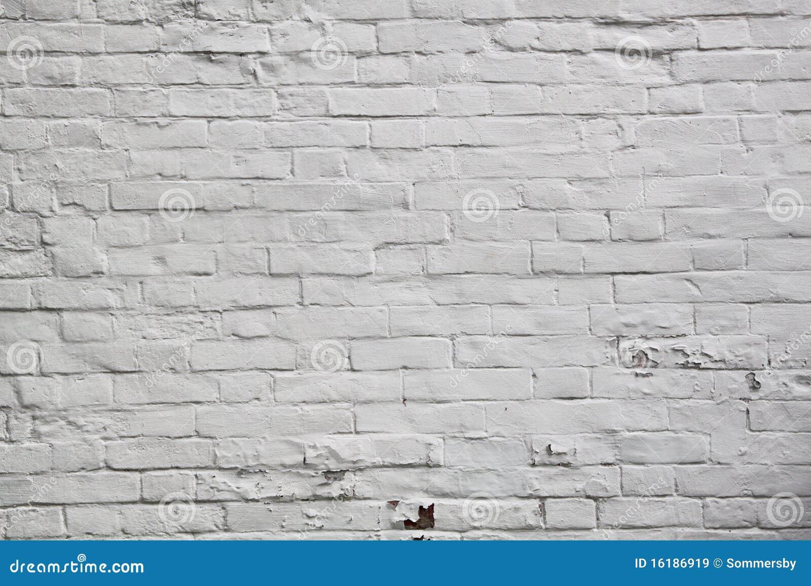 White Brick Wall Texture Stock Image Image Of Design
