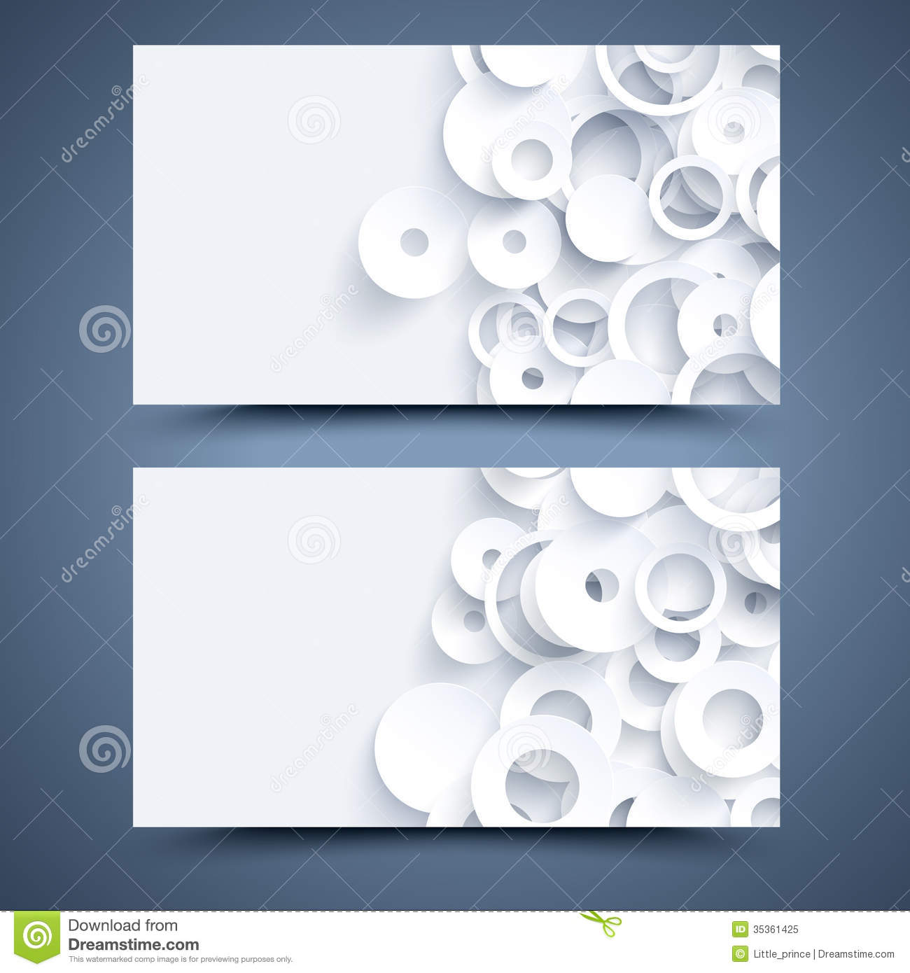 White business card template abstract background royalty for Front and back business card template