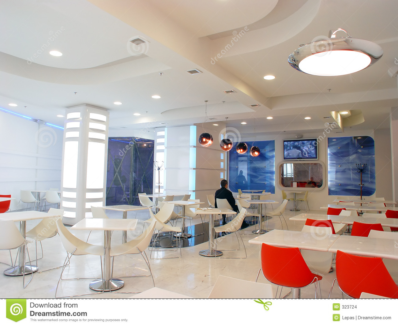 White Cafe Stock Images Image 323724