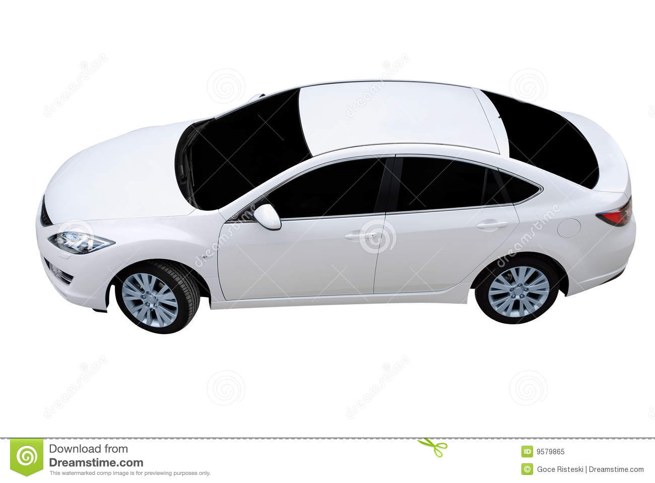 White Car HD Photos 03599 - Baltana