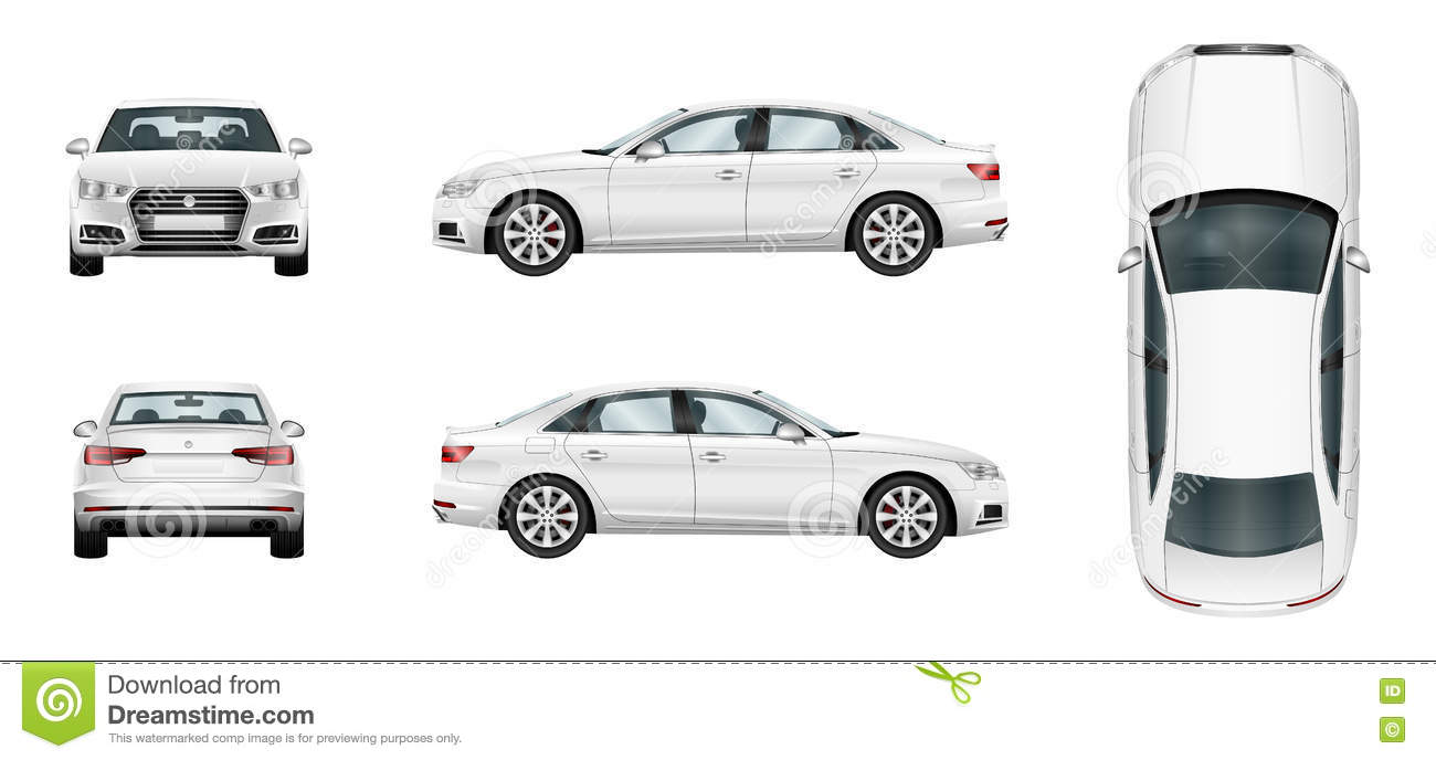 Car Template Stock Photos - Image: 2433033