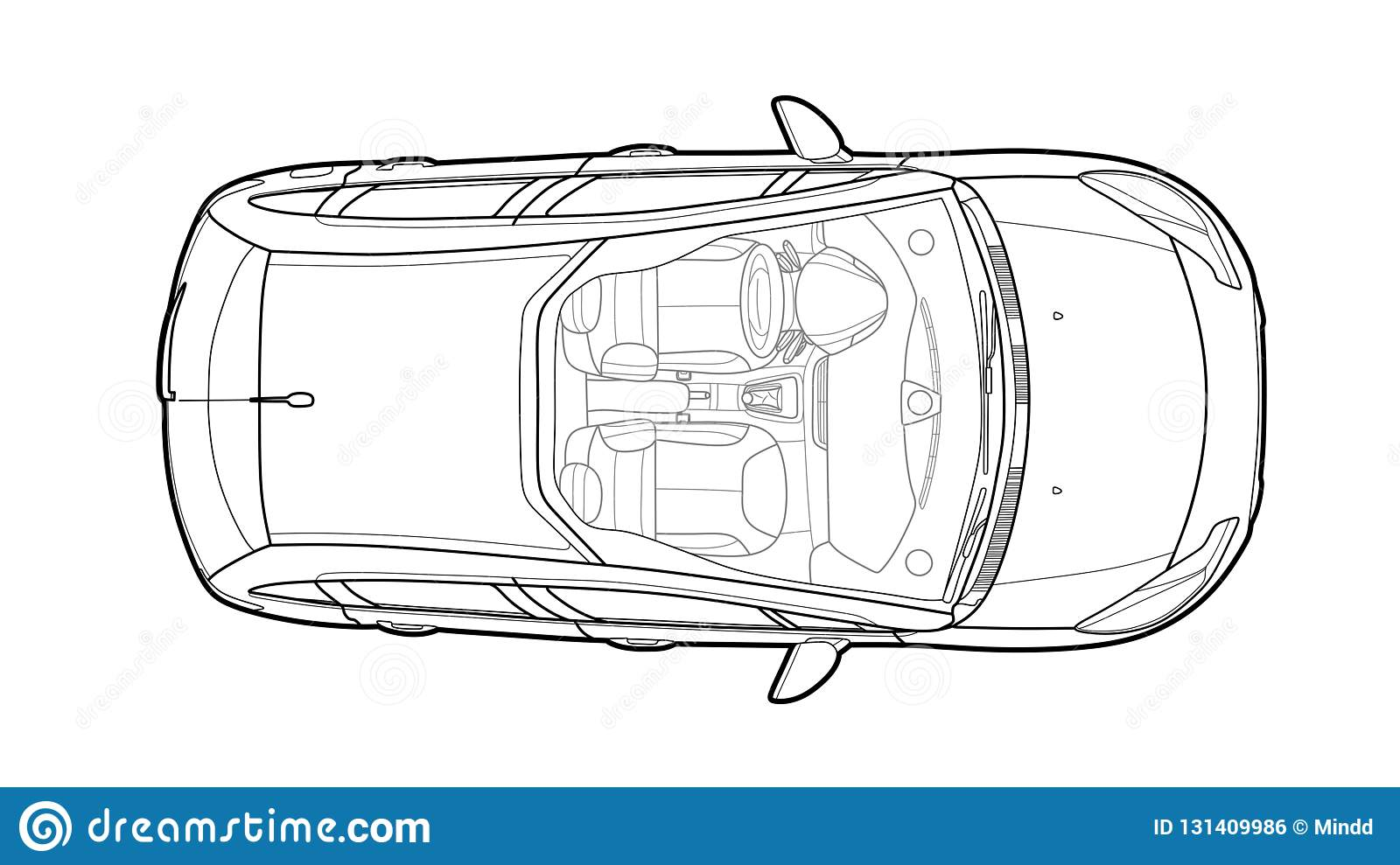 car from top view vector flat design auto stock vector Car Accident Diagram Top View car from top view vector flat design auto