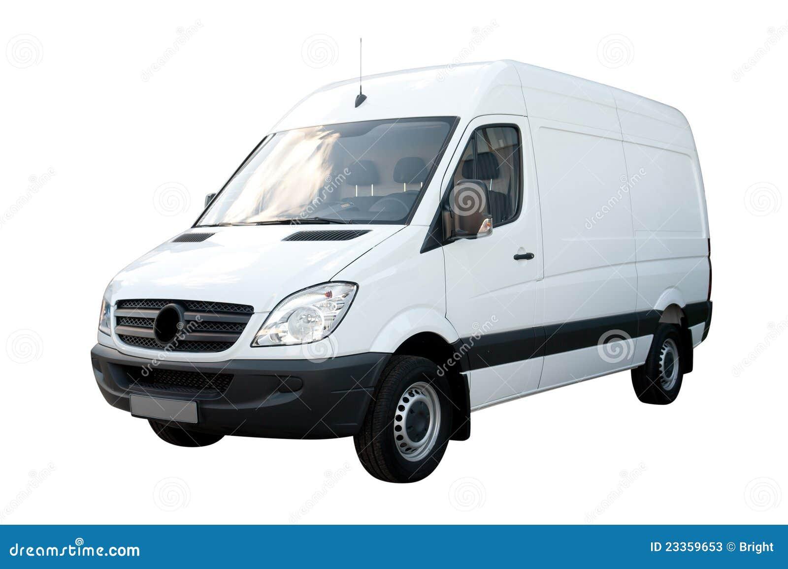 white cargo van stock photos image 23359653. Black Bedroom Furniture Sets. Home Design Ideas