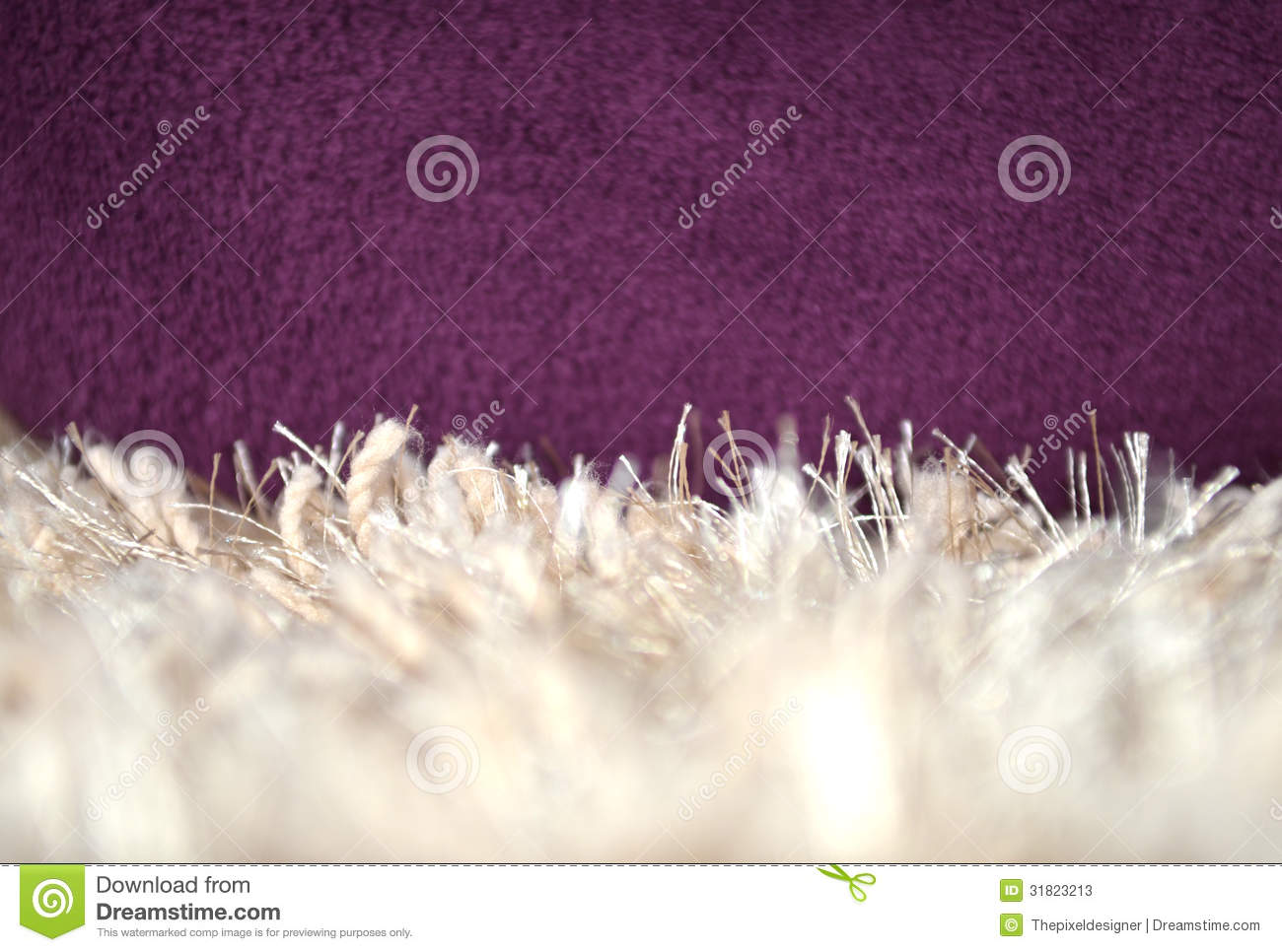 White Carpet Fluffy Textile Stock Photos Image 31823213