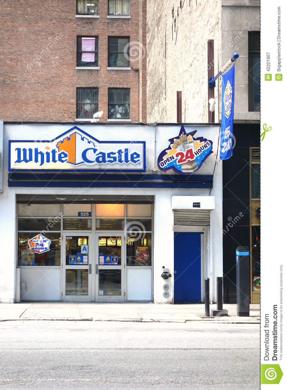 White Castle Editorial Photography Image Of York Manhattan 42221907