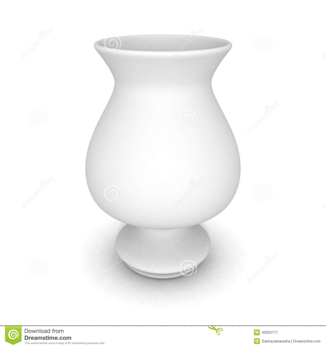 White ceramic modern vase with shadow stock illustration white ceramic modern vase with shadow reviewsmspy