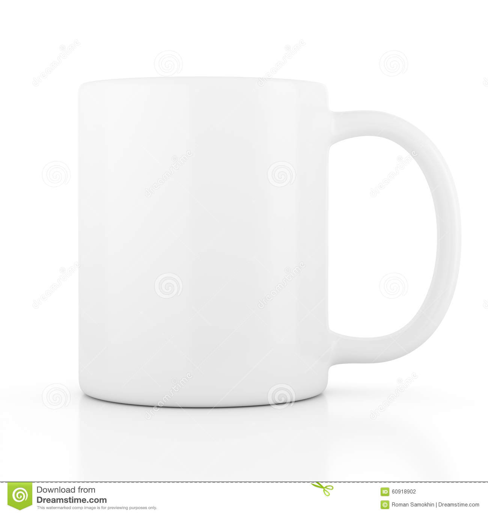 White Ceramic Travel Mug