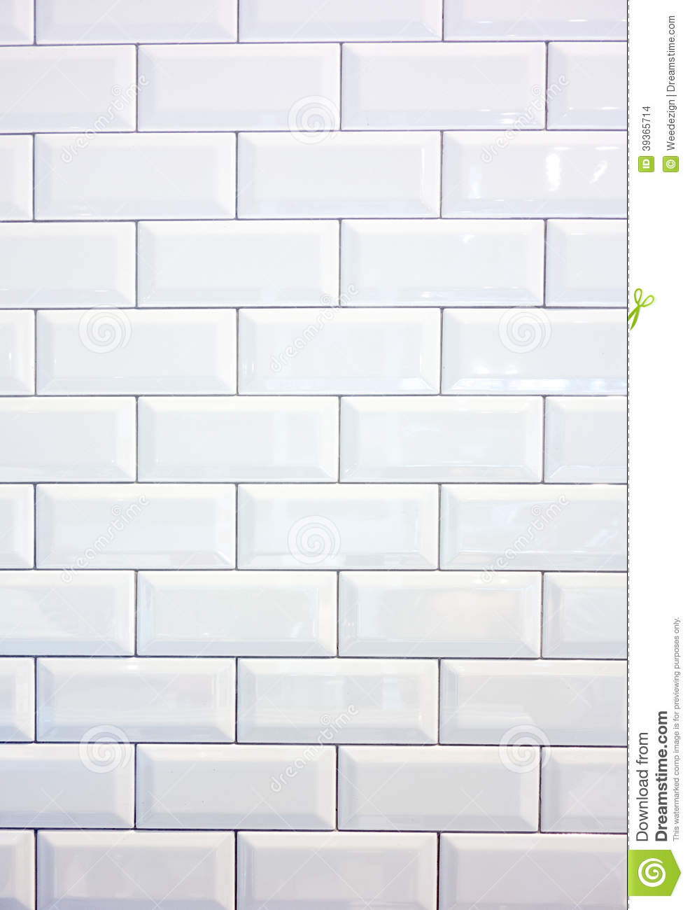 White ceramic tile wall stock photo. Image of clean, tile - 39365714