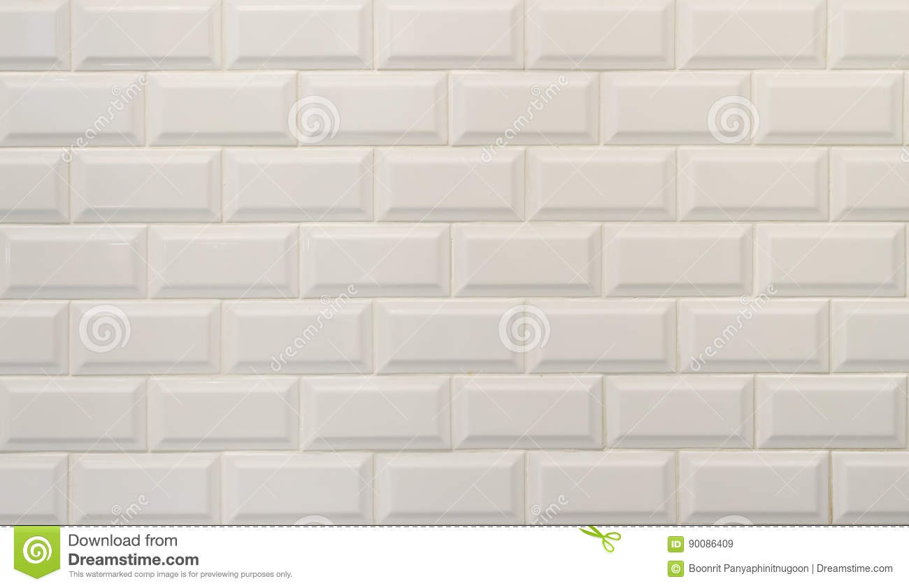 White ceramic tiles texture imitating white bricks stock image white ceramic tiles texture imitating white bricks dailygadgetfo Gallery
