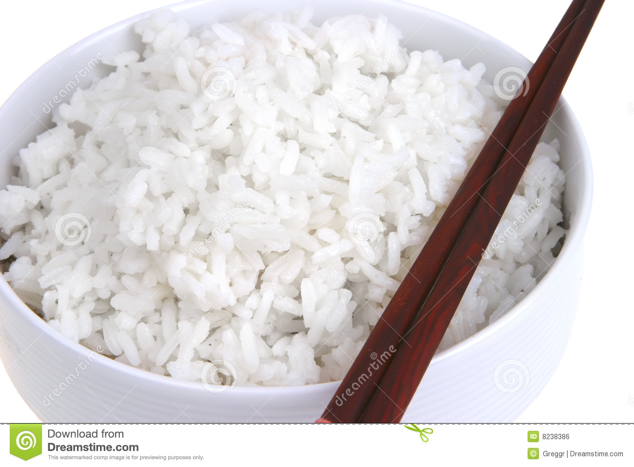 White China Rice Royalty Free Stock Image - Image: 8238386